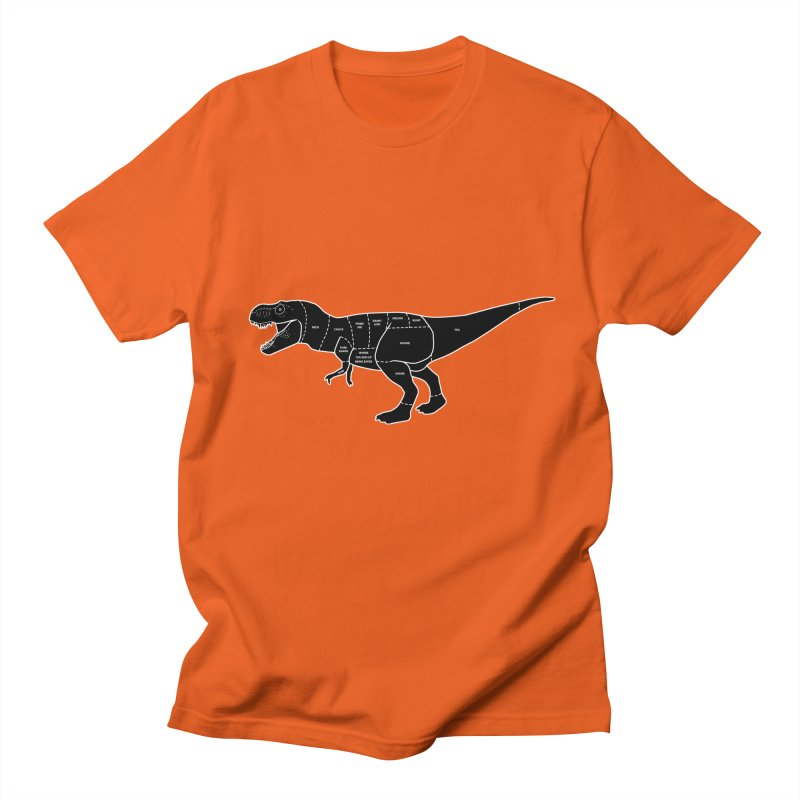 JURASSIC MEAT CUTS Men's T-shirt by jrtoyman's Artist Shop