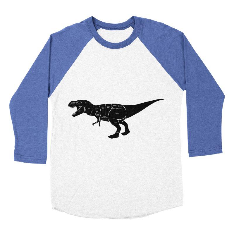 JURASSIC MEAT CUTS Women's Baseball Triblend T-Shirt by jrtoyman's Artist Shop