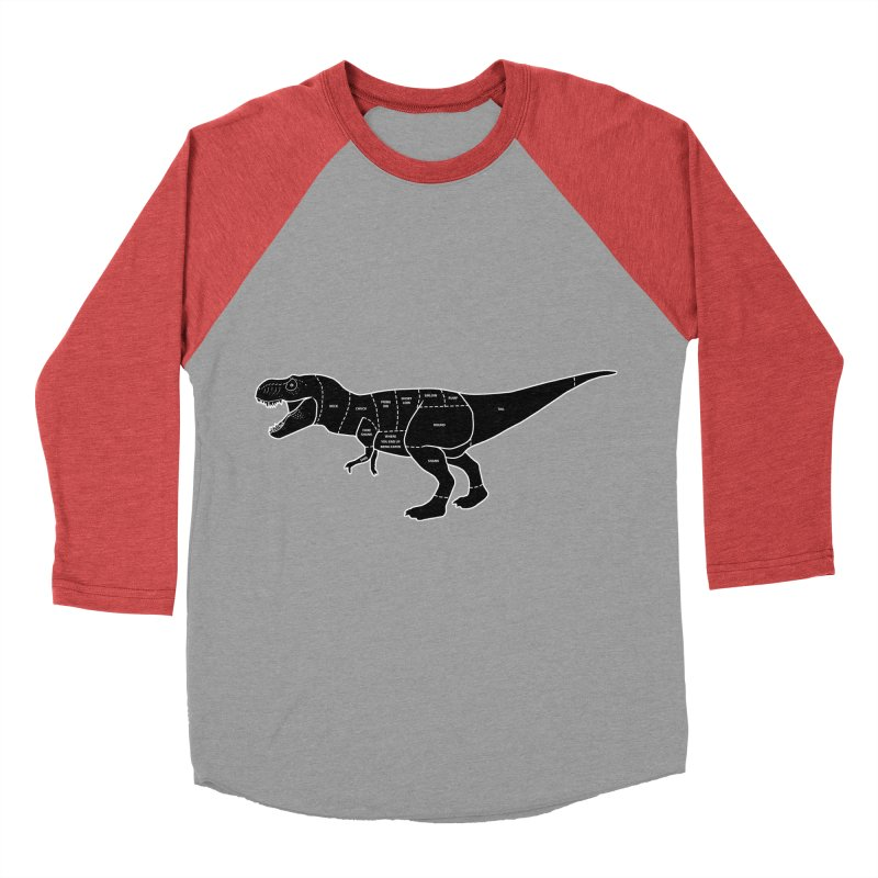 JURASSIC MEAT CUTS Women's Baseball Triblend T-Shirt by jrtoyman's Artist Shop