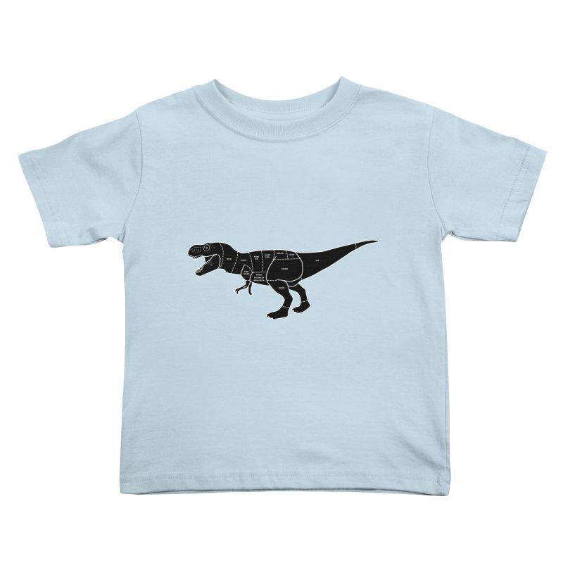 JURASSIC MEAT CUTS Kids Toddler T-Shirt by jrtoyman's Artist Shop