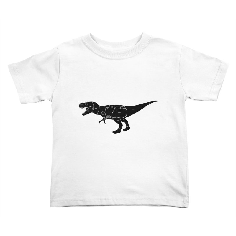 JURASSIC MEAT CUTS Kids Toddler T-Shirt by jrtoyman's Artist Shop