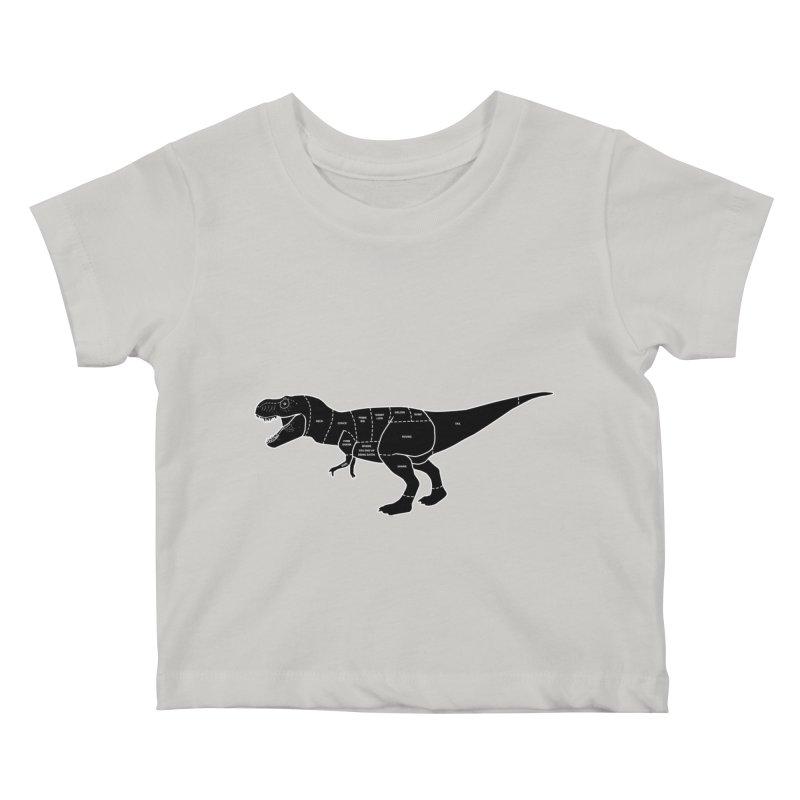JURASSIC MEAT CUTS Kids Baby T-Shirt by jrtoyman's Artist Shop