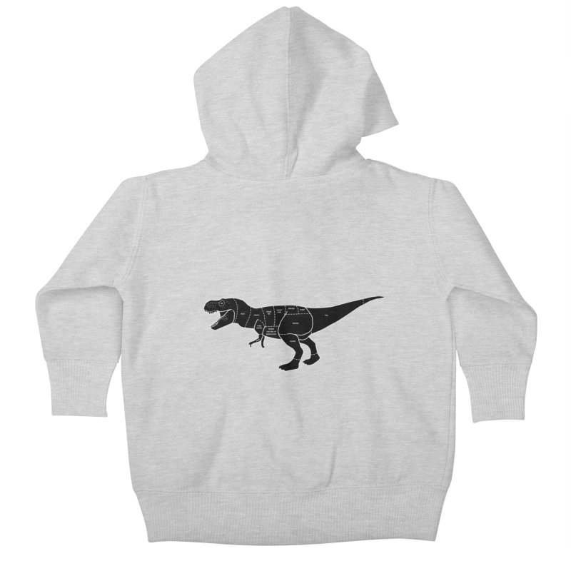JURASSIC MEAT CUTS Kids Baby Zip-Up Hoody by jrtoyman's Artist Shop