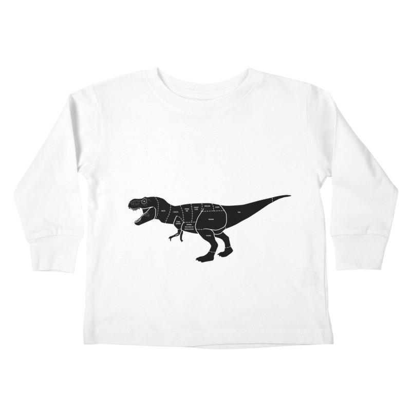 JURASSIC MEAT CUTS Kids Toddler Longsleeve T-Shirt by jrtoyman's Artist Shop