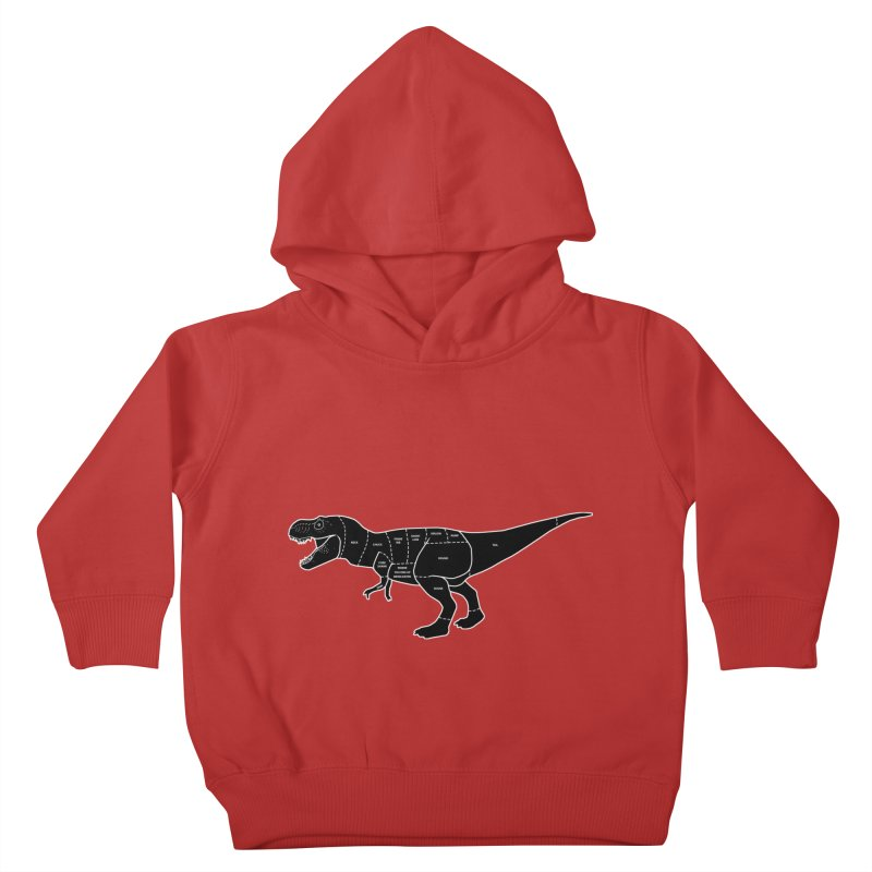 JURASSIC MEAT CUTS Kids Toddler Pullover Hoody by jrtoyman's Artist Shop