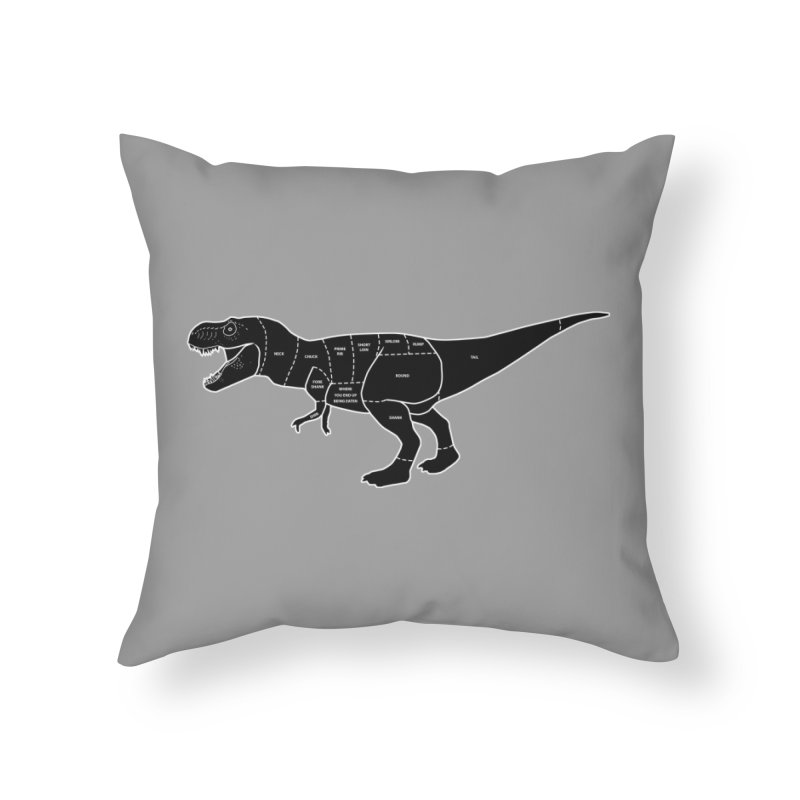 JURASSIC MEAT CUTS Home Throw Pillow by jrtoyman's Artist Shop