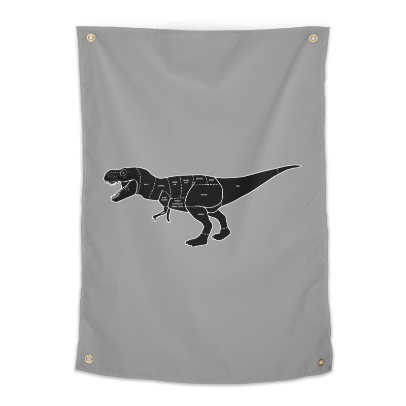 JURASSIC MEAT CUTS Home Tapestry by jrtoyman's Artist Shop