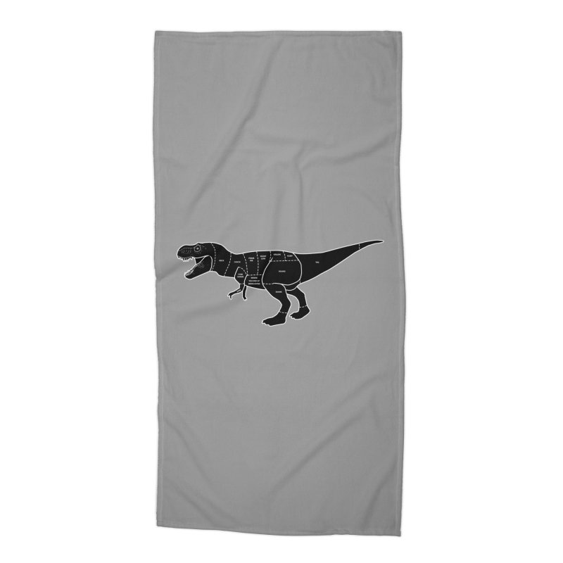 JURASSIC MEAT CUTS Accessories Beach Towel by jrtoyman's Artist Shop