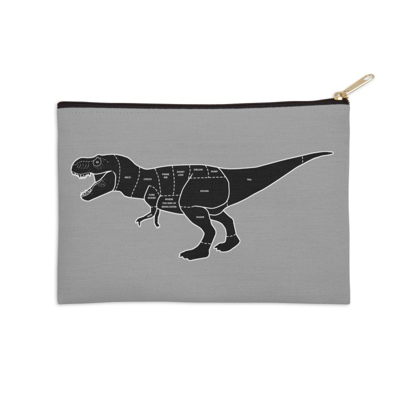 JURASSIC MEAT CUTS Accessories Zip Pouch by jrtoyman's Artist Shop