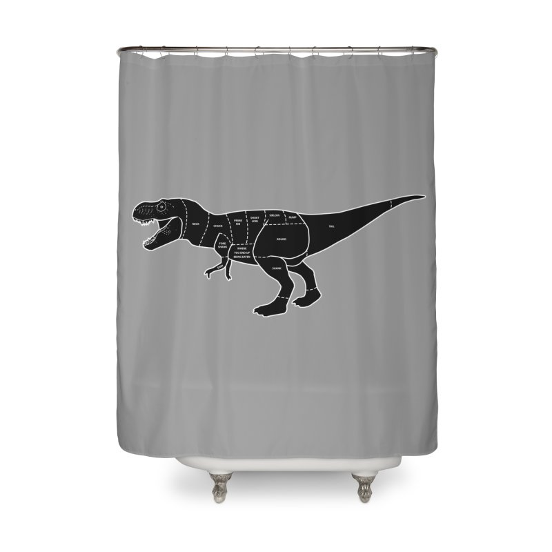 JURASSIC MEAT CUTS Home Shower Curtain by jrtoyman's Artist Shop