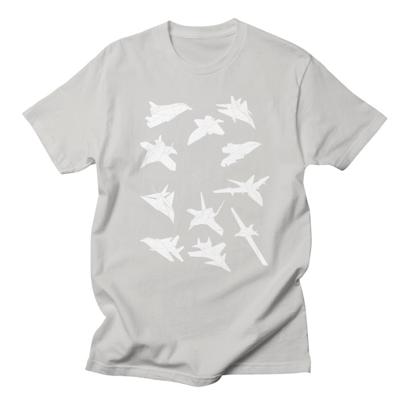 STEALTH PAPER PLANE (BLACK & WHITE) Women's Unisex T-Shirt by jrtoyman's Artist Shop