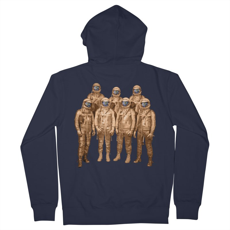 EARTH AND BEYOND! Men's Zip-Up Hoody by jrtoyman's Artist Shop