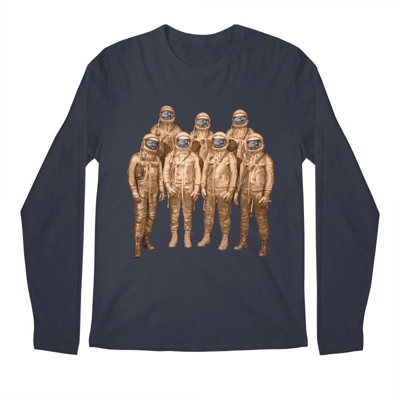 EARTH AND BEYOND! Men's Longsleeve T-Shirt by jrtoyman's Artist Shop