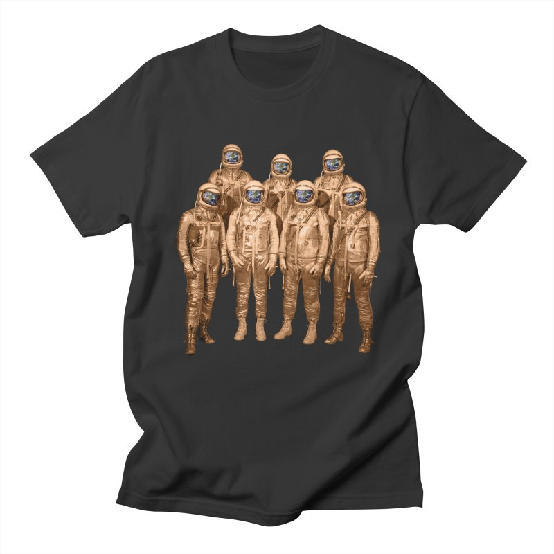 EARTH AND BEYOND! Men's T-shirt by jrtoyman's Artist Shop