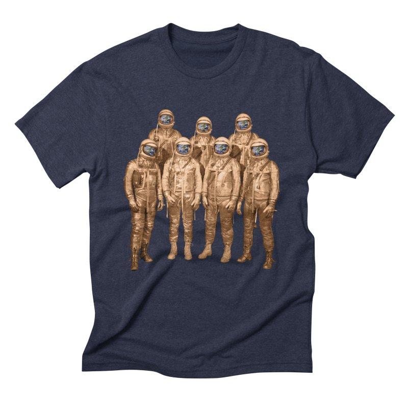 EARTH AND BEYOND! Men's Triblend T-Shirt by jrtoyman's Artist Shop