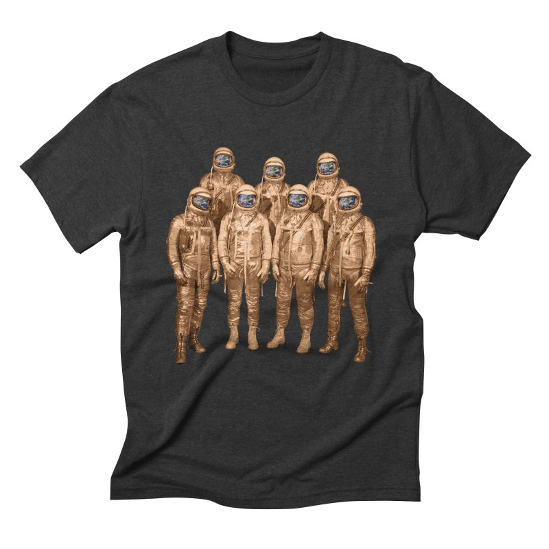 EARTH AND BEYOND! Men's Triblend T-shirt by jrtoyman's Artist Shop