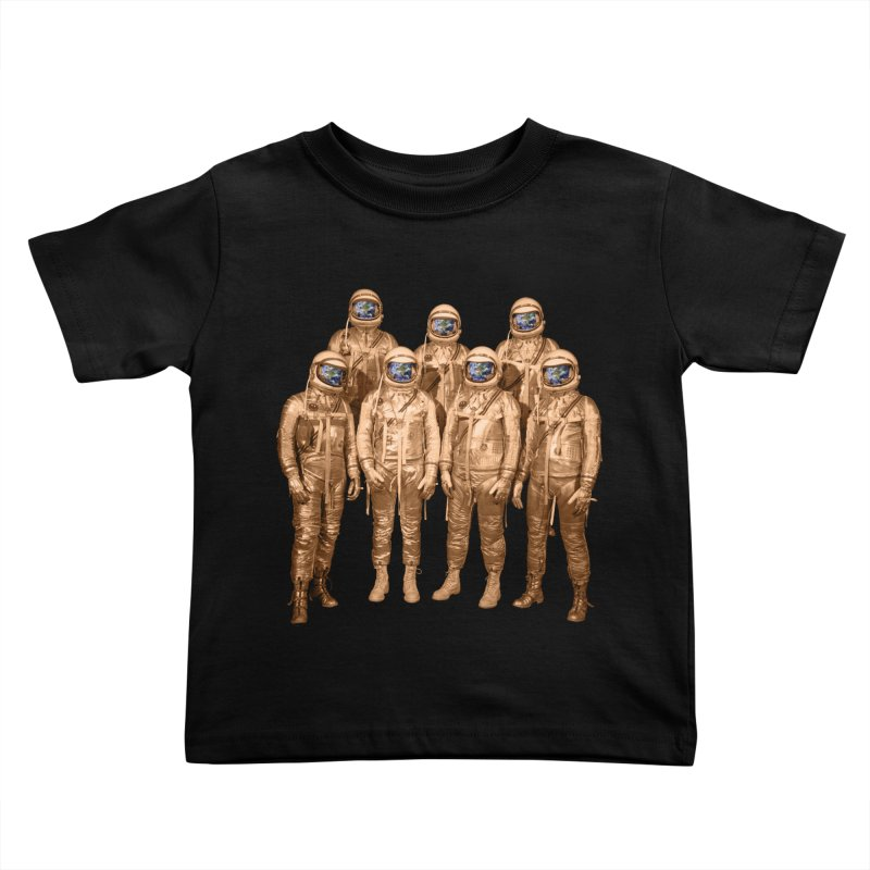 EARTH AND BEYOND! Kids Toddler T-Shirt by jrtoyman's Artist Shop