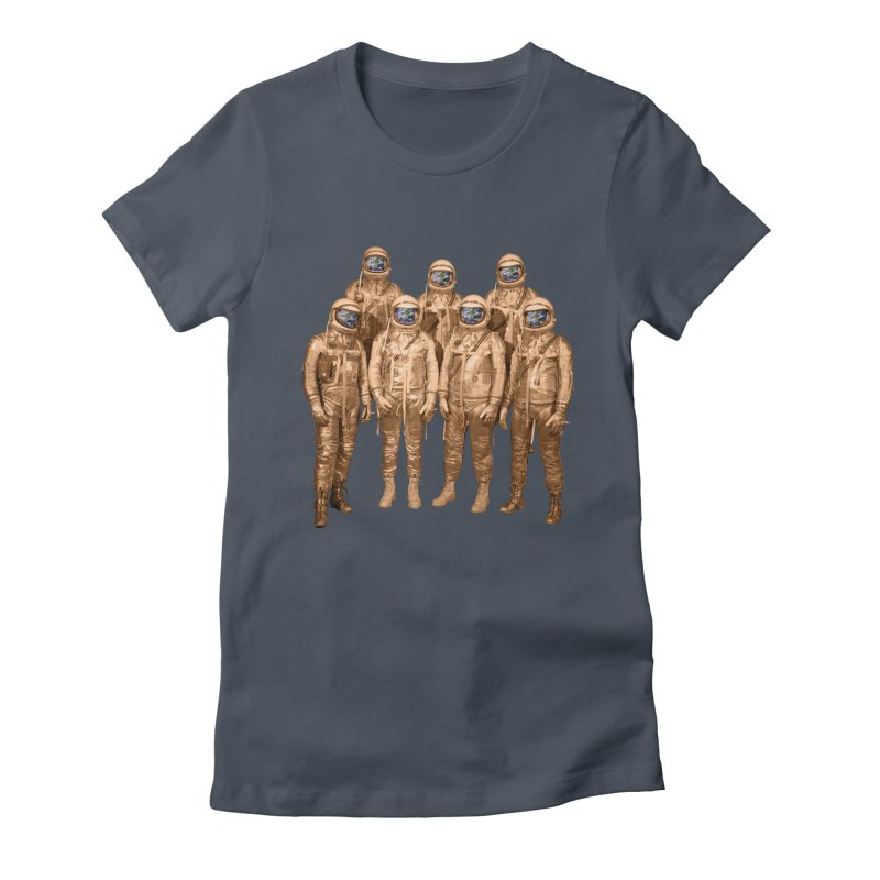 EARTH AND BEYOND! Women's Fitted T-Shirt by jrtoyman's Artist Shop