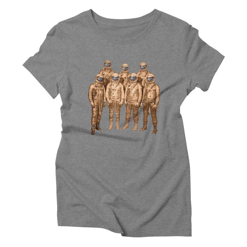 EARTH AND BEYOND! Women's Triblend T-shirt by jrtoyman's Artist Shop