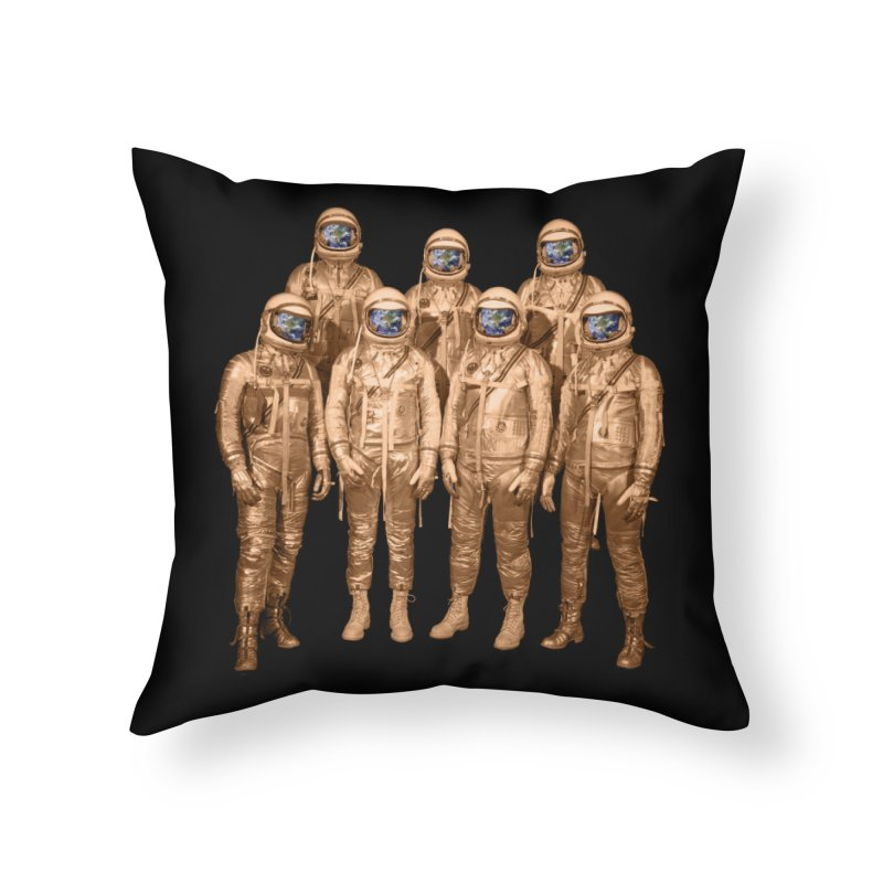 EARTH AND BEYOND! Home Throw Pillow by jrtoyman's Artist Shop
