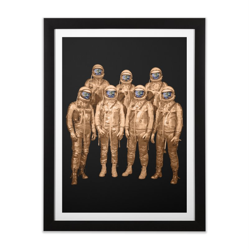 EARTH AND BEYOND! Home Framed Fine Art Print by jrtoyman's Artist Shop