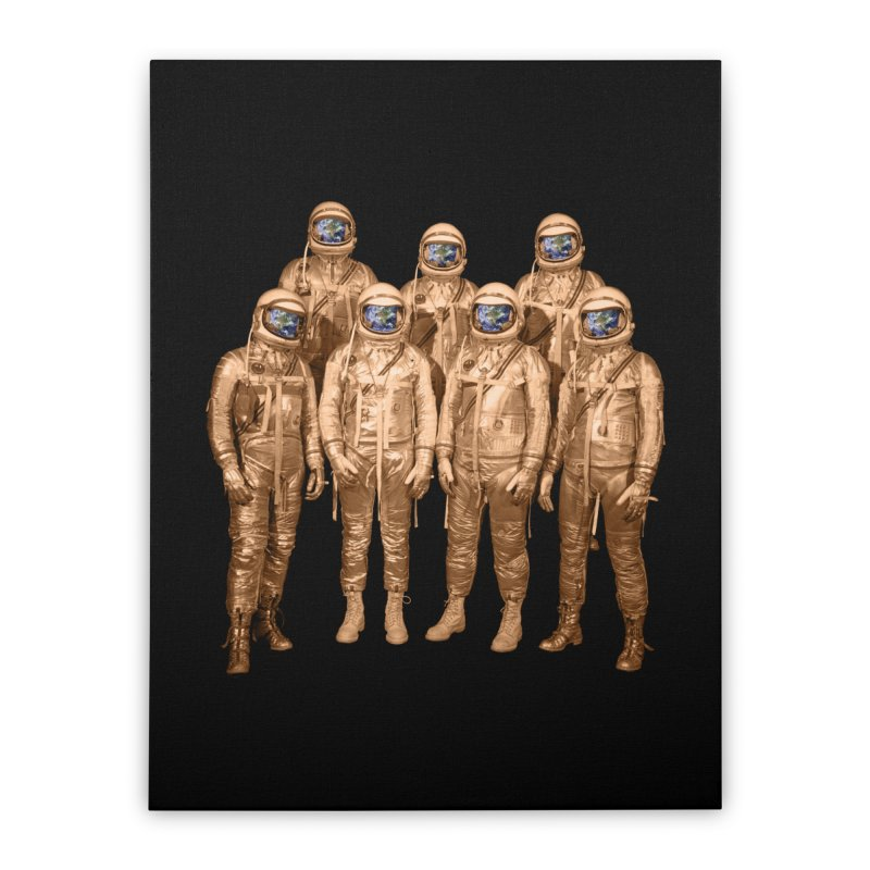 EARTH AND BEYOND! Home Stretched Canvas by jrtoyman's Artist Shop