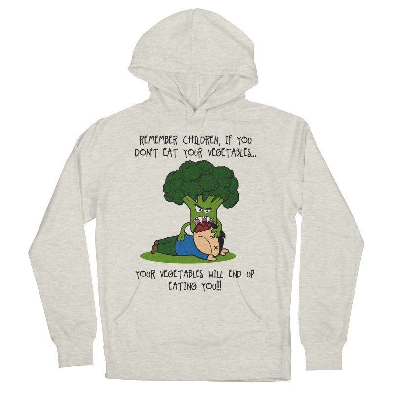 EAT YOUR VEGGIES! Men's Pullover Hoody by jrtoyman's Artist Shop