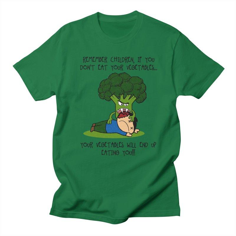 EAT YOUR VEGGIES! Women's Unisex T-Shirt by jrtoyman's Artist Shop