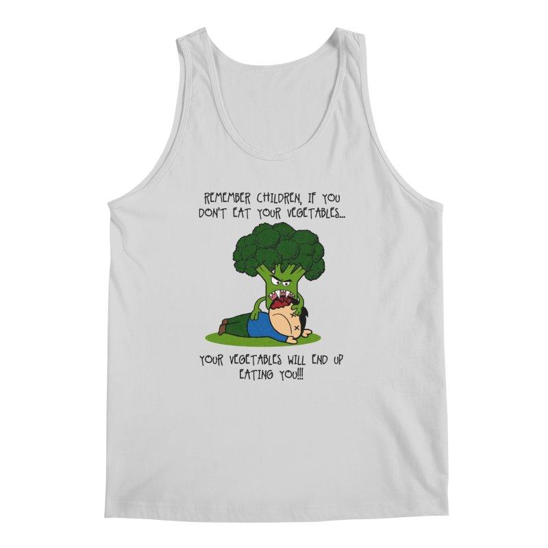 EAT YOUR VEGGIES! Men's Tank by jrtoyman's Artist Shop