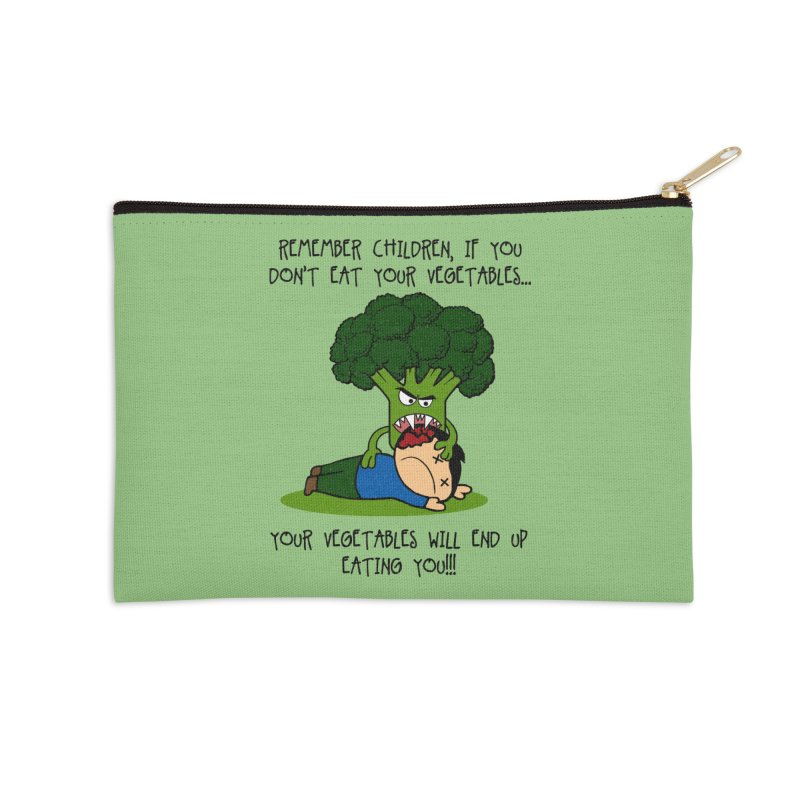 EAT YOUR VEGGIES! Accessories Zip Pouch by jrtoyman's Artist Shop