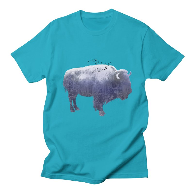 WINTER BISON Women's Unisex T-Shirt by jrtoyman's Artist Shop