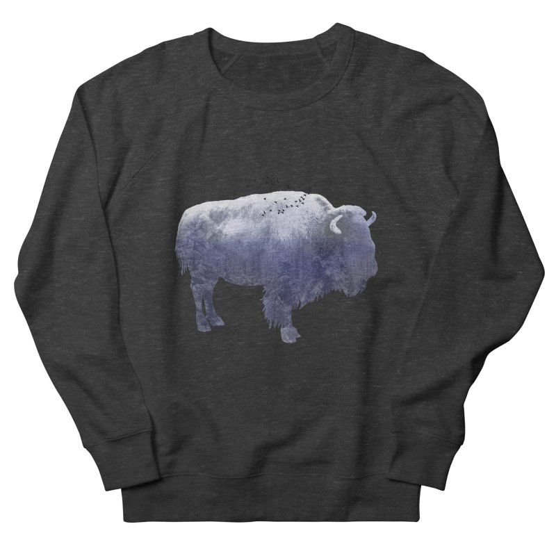 WINTER BISON Women's Sweatshirt by jrtoyman's Artist Shop