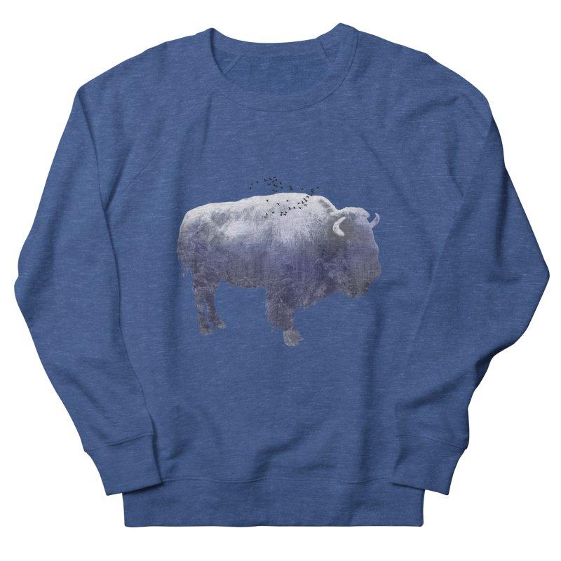WINTER BISON Men's Sweatshirt by jrtoyman's Artist Shop