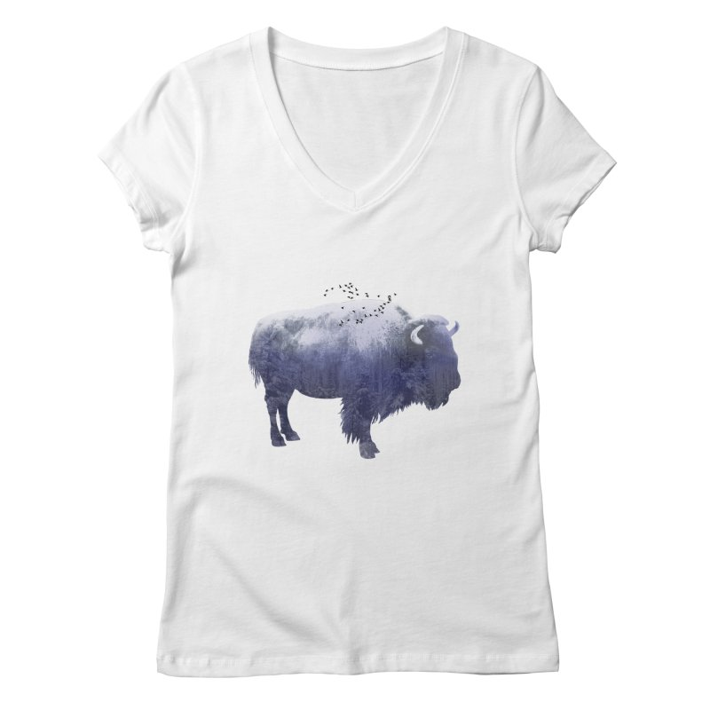 WINTER BISON   by jrtoyman's Artist Shop