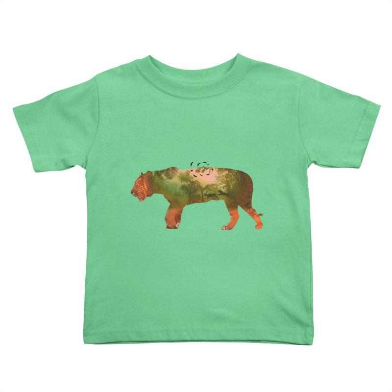 ON THE HUNT! Kids Toddler T-Shirt by jrtoyman's Artist Shop