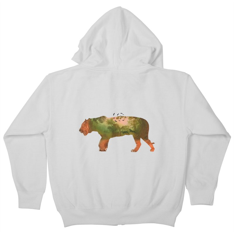 ON THE HUNT! Kids Zip-Up Hoody by jrtoyman's Artist Shop