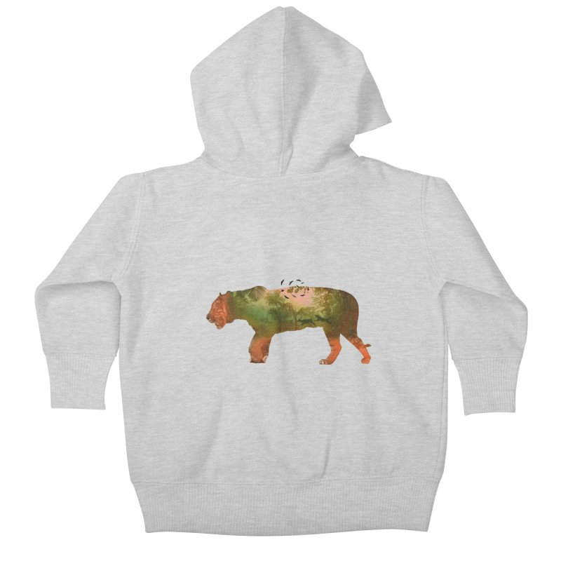 ON THE HUNT! Kids Baby Zip-Up Hoody by jrtoyman's Artist Shop