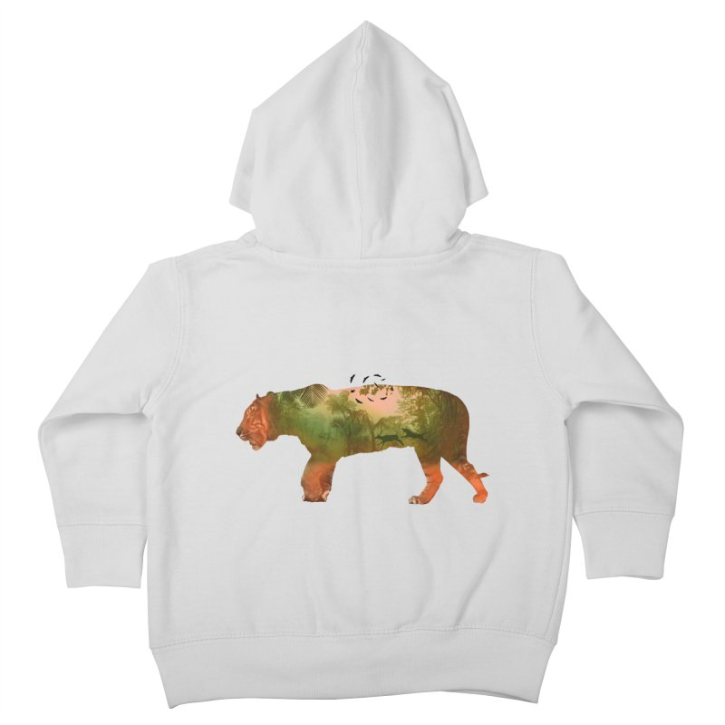 ON THE HUNT! Kids Toddler Zip-Up Hoody by jrtoyman's Artist Shop
