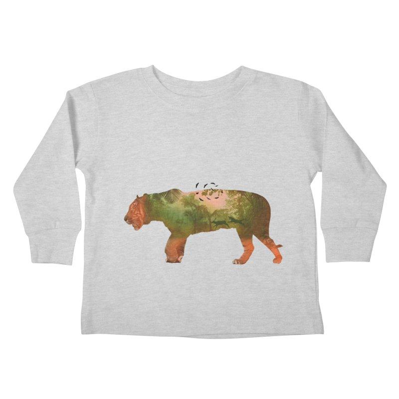 ON THE HUNT! Kids Toddler Longsleeve T-Shirt by jrtoyman's Artist Shop