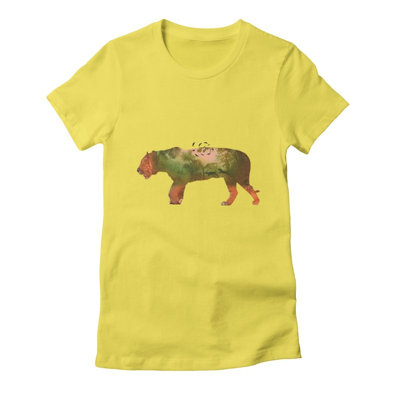 ON THE HUNT! Women's Fitted T-Shirt by jrtoyman's Artist Shop