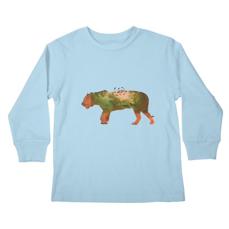 ON THE HUNT! Kids Longsleeve T-Shirt by jrtoyman's Artist Shop