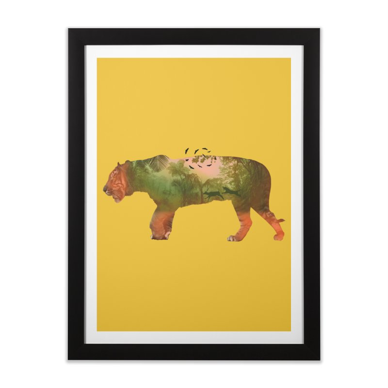 ON THE HUNT! Home Framed Fine Art Print by jrtoyman's Artist Shop