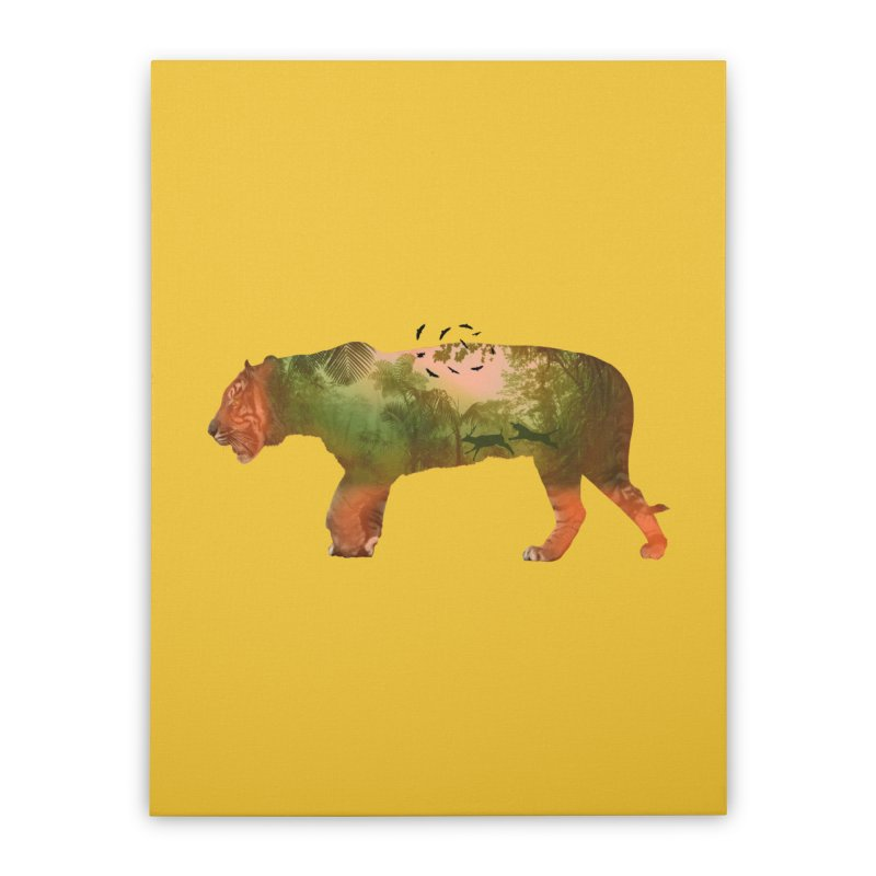 ON THE HUNT! Home Stretched Canvas by jrtoyman's Artist Shop