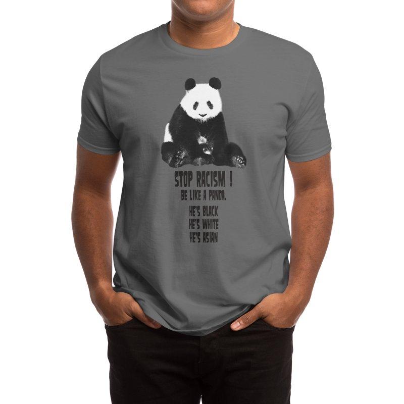 STOP RACISM! Men's T-Shirt by jrtoyman's Artist Shop