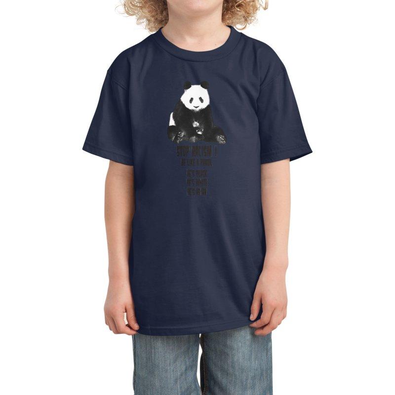 STOP RACISM! Kids T-Shirt by jrtoyman's Artist Shop