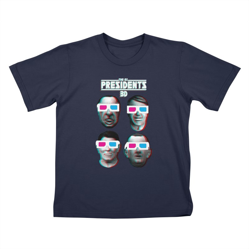 THE EX-PRESIDENTS-variant Kids Toddler T-Shirt by jrtoyman's Artist Shop