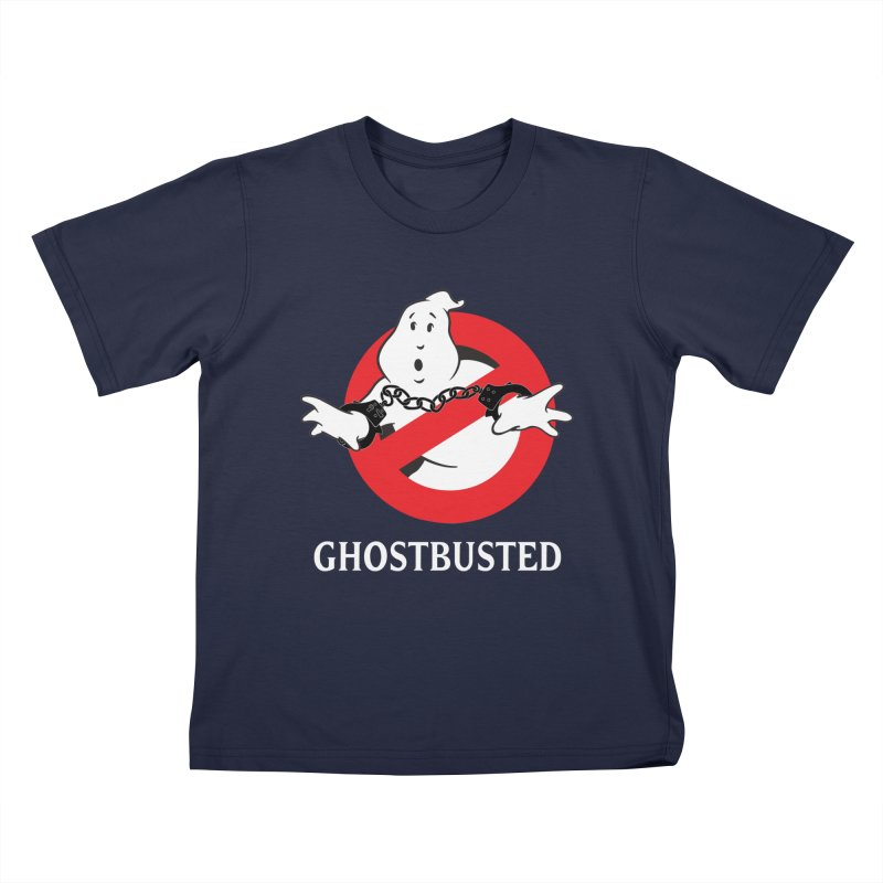 GHOSTBUSTED! Kids Toddler T-Shirt by jrtoyman's Artist Shop