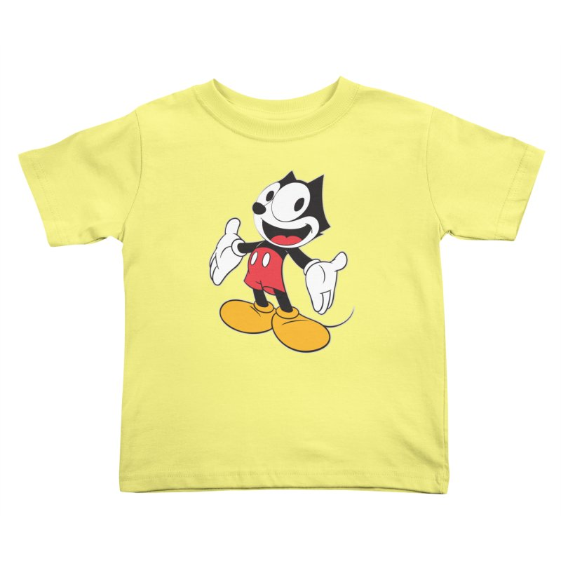 FELIX THE MOUSE Kids Toddler T-Shirt by jrtoyman's Artist Shop