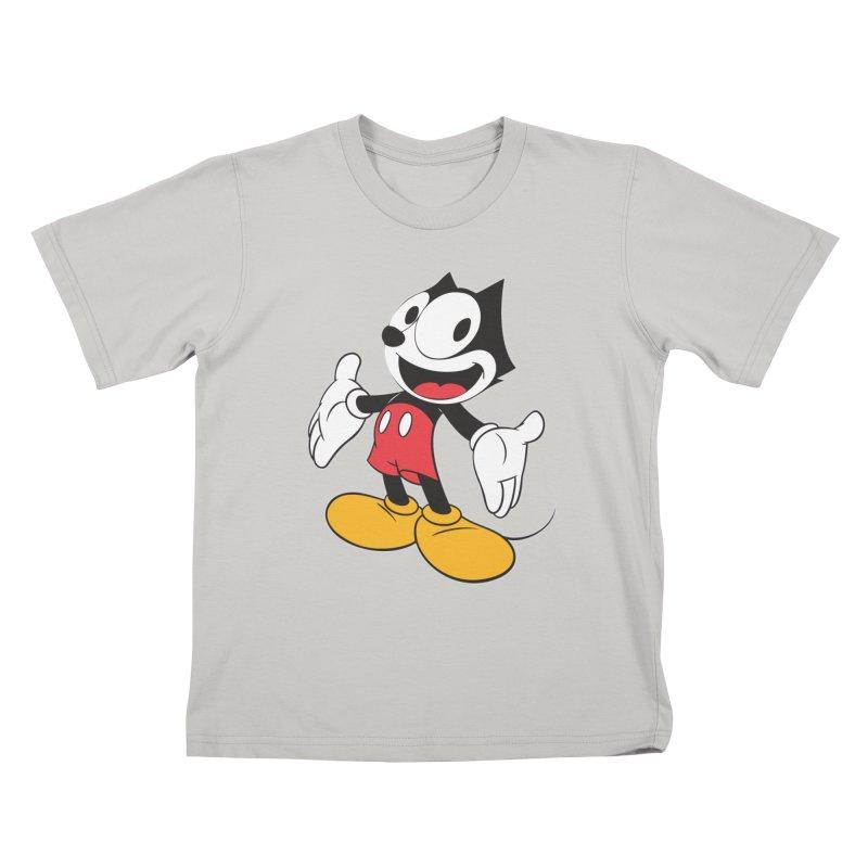 FELIX THE MOUSE Kids T-shirt by jrtoyman's Artist Shop