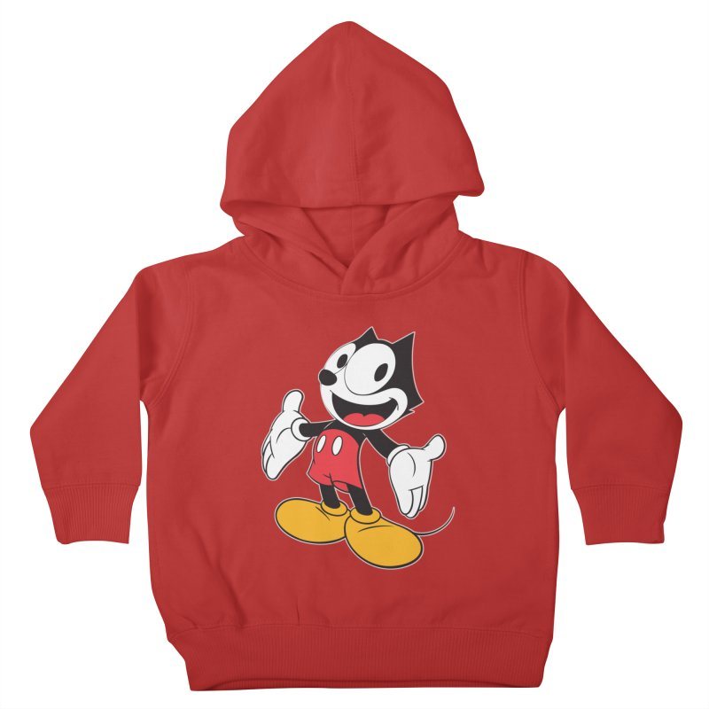 FELIX THE MOUSE Kids Toddler Pullover Hoody by jrtoyman's Artist Shop